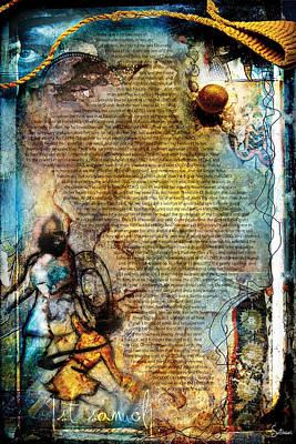Crucify Digital Art Digital Art - First Samuel 1 by Switchvues Design