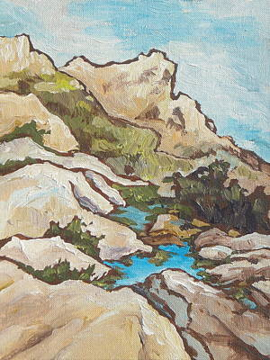 Painting - First Water by Sandy Tracey
