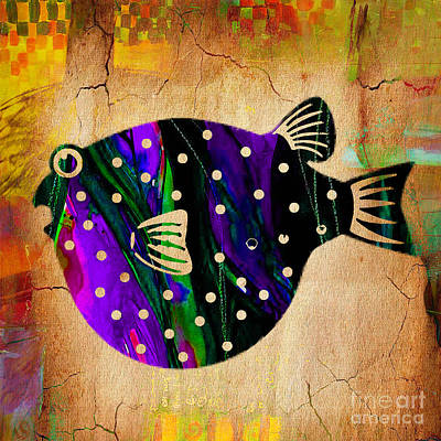 Fish Art Print by Marvin Blaine