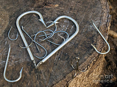 Angle Fishes Photograph - Fisherman's Heart by Sinisa Botas