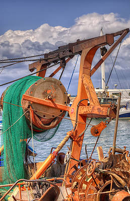 Photograph - Fishing Boat by Uri Baruch