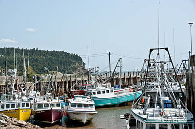 Photograph - Fishing Boats by Cheryl Baxter