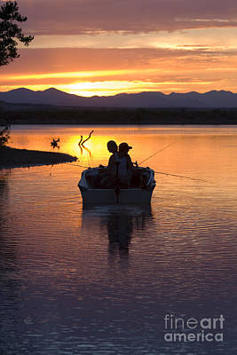 Steve Krull Royalty-Free and Rights-Managed Images - Fishing Boats by Steve Krull
