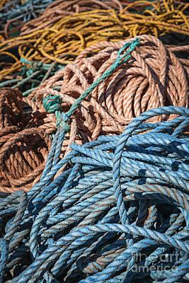 Fishing Ropes Art Print