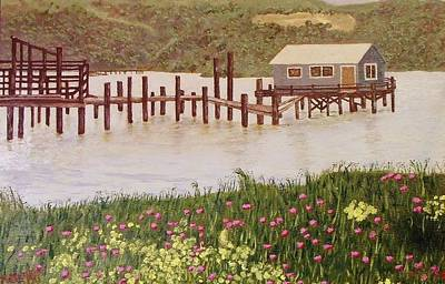 Fishing Shack Art Print
