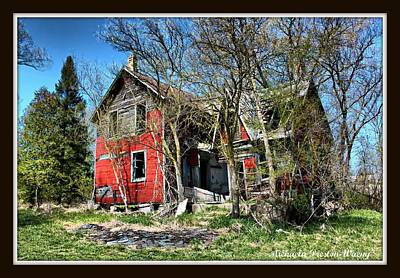 Photograph - Fixer Upper by Michaela Preston