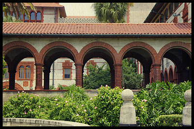 Photograph - Flagler Archway by Laurie Perry