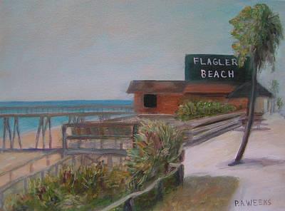 Flagler Beach Art Print