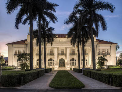 Photograph - Flagler Museum by Debra and Dave Vanderlaan
