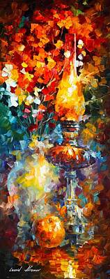 Flame Art Print by Leonid Afremov