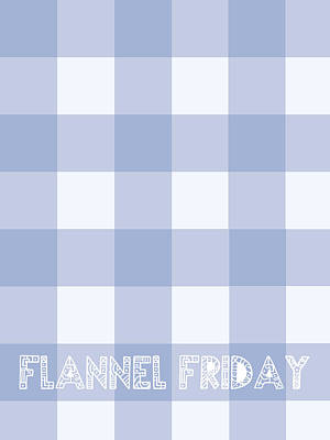Fuzzy Digital Art - Flannel Friday by Celestial Images