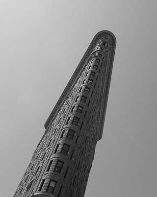 Photograph - Flat Iron Building by Keith McGill