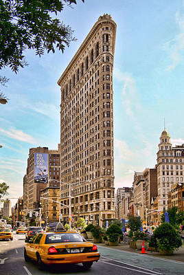 Photograph - Flat Iron Building by Michael Dorn