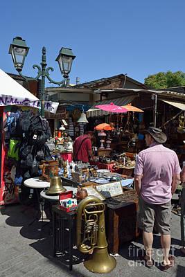 Flea Market Photograph - Flea Market In Athens by George Atsametakis