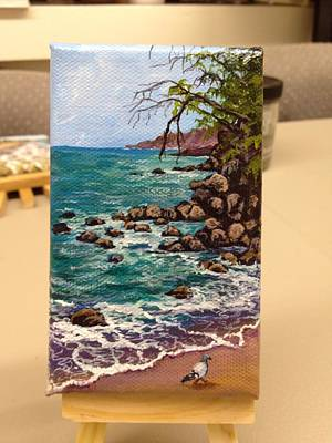 Painting - Fleming Beach by Darice Machel McGuire