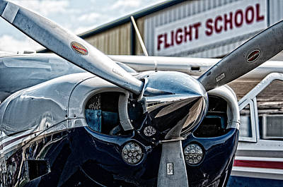 Photograph - Flight School by Andy Crawford