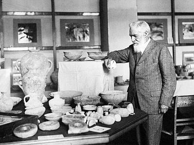 Flinders Petrie Art Print by Petrie Museum Of Egyptian Archaeology, Ucl
