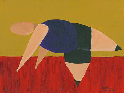 Painting - Floor Dancer 3 by Darice Machel McGuire