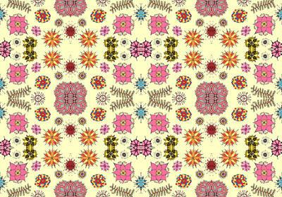Floral Burst Print by Sumit Mehndiratta