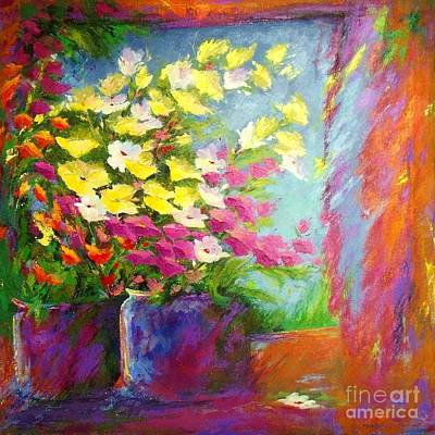 Painting - Floral Symphony by Madeleine Holzberg