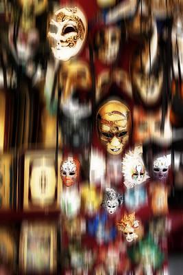 Venice Beach Bungalow - Florentine masks by Hugh Smith