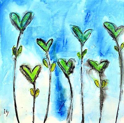 Flores Para Enamorar Art Print