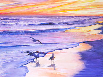 Painting - Florida Sunset by Patricia Ragone