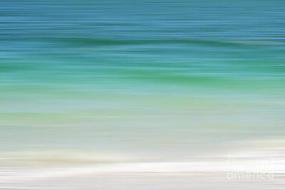 Photograph - Florida Tropical Ocean Abstract by Andrea Hazel Ihlefeld