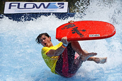 Photograph - Flowboarding Extremes by Donna Pagakis