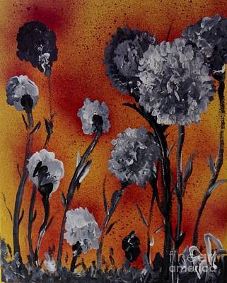 Store Painting - Flower Power by James Daugherty