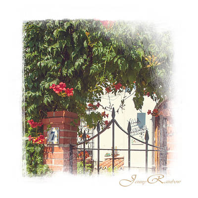 Photograph - Flowered Entrance. Ronda. Andalusia by Jenny Rainbow