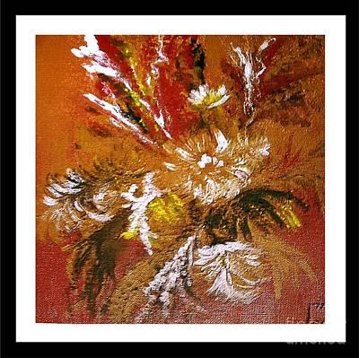 Painting - Flowering Fireworks by Iris Gelbart