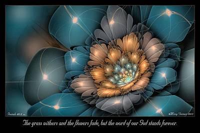 Digital Art - Flowers Fade by Missy Gainer
