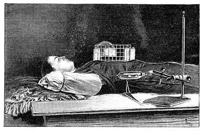 Fluoroscopy Experiment Art Print