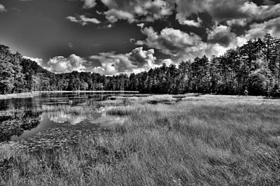 Evergreen Photograph - Fly Pond In The Amazing Adirondacks by David Patterson