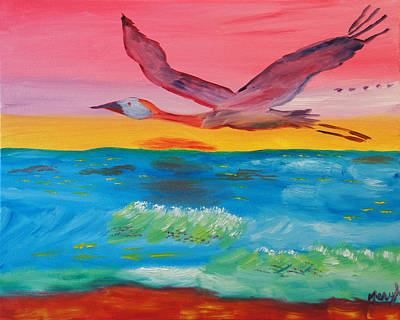 Flying Free Art Print