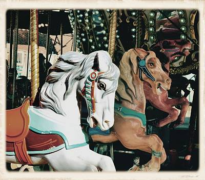 Photograph - Flying Hobbyhorses by JAMART Photography
