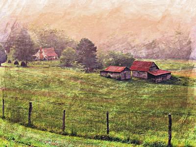 Photograph - Foggy Farm by Joe Duket