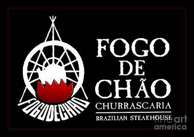 Photograph - Fogo De Chao Sign by John Stephens