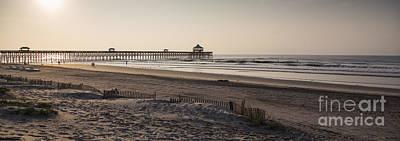 Folly Photograph - Folly Beach Morning by Dustin K Ryan