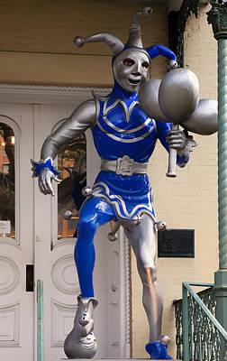 Folly Statue At The Mardi Gras Museum - Mobile Alabama Art Print