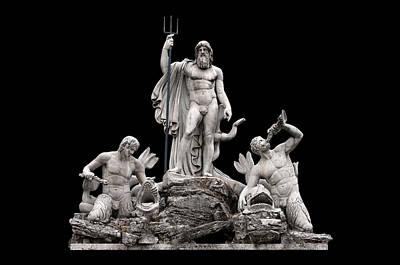 Fontana Del Nettuno  Art Print