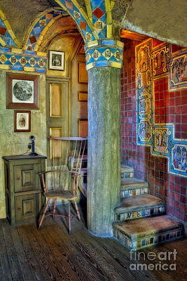 Photograph - Fonthill Castle  by Susan Candelario