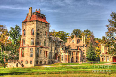 Traci Law Photograph - Fonthill Castle by Traci Law