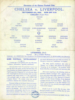 Chelsea Photograph - Football Programme by British Library