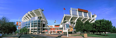 Stadium Scene Photograph - Football Stadium In A City, Firstenergy by Panoramic Images