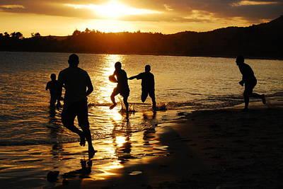 Photograph - Football Sunset by Jocelyn Friis