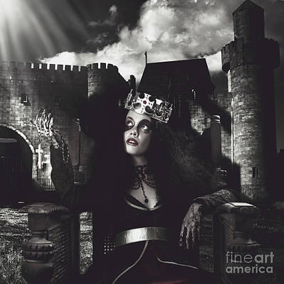 Medieval Princess Photograph - For God And Country by Jorgo Photography - Wall Art Gallery