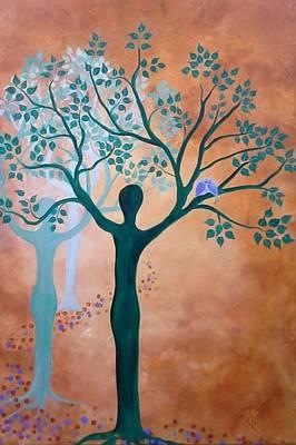 For You Shall Be Like A Tree... Art Print by Almeta LENNON