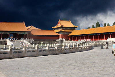 Photograph - Forbidden City by Robert Hebert